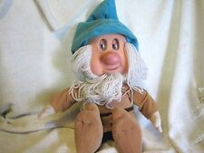 "Snow White's dwarf SLEEPY Plush Doll 11"" tall setting By Matel Eyes Roll back"