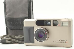 【 Near MINT- in CASE 】 Contax T2 Point & Shoot 35mm Film Camera from JAPAN #2154