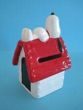 WADE SNOOPY KENNEL MONEY BANK, 2001 COLLECTABLE WITH CERTIFICATE *Mint*