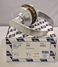 "PDQ Commerical Lockset SD 126 ENTRANCE 2 3/4"" BACKSET ASA STRIKE SCHLAGE"