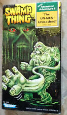 Swamp Thing Animated Adventure 1 The Un-Men Unleashed VHS Video Kenner 1990 New