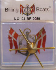 Billing Boats Accessory BF-0050 - 1 x 43m Brass Ships Capstan with Handspokes