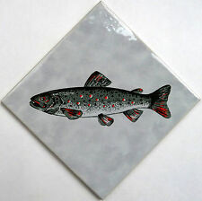 """Wandkachel """"Forelle"""" - Angeln - Fischen - Dekoration"""
