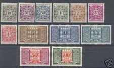 "MONACO TAXE 1946-57 Y&T 29/39 ""12 VALEURS"", NEUFSxx TTB"
