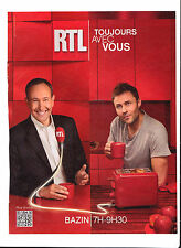 RTL  Publicité de Magazine . Magazine advertisement. 2012