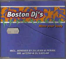 Boston DJS -move your body cd maxi single