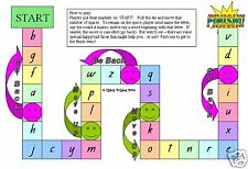 ALPHABET - PHONICS GAME teacher resource LITERACY