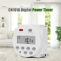 CN101A Digital Power Timer 7 Day Programmable Time Switch Controller Relay