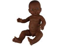 Babypuppe Junge 'afrikanisch', 42 cm