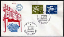 EUROPA CEPT FDC 1961 ALLEMAGNE 2 - BONN
