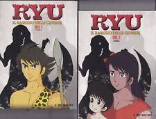 4 Dvd x 2 Box Cofanetti RYU - IL RAGAZZO DELLE CAVERNE serie completa 1971