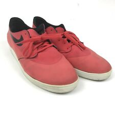 Nike SB Lunarlon Mens Size 14 Red Lace Up Running Work Out Athletic Shoes