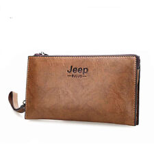 Men Clutch Bags Mujer Luxury Pu Leather Purse Clutch Wallets Hand Bag Man Wallet
