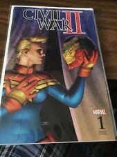 Civil War 2 #1 Fan Expo Variant Marvel Comics John Cassaday Cover
