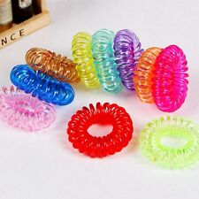 12sets Colorful Elastic Rubber Hair Ties Band Rope Ponytail Holder for Girl Kids