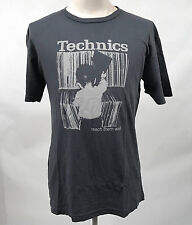 Chaser Men's T-Shirt Technics Crates Charcoal Size M NEW Vinyl Record