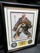 PATRICK ROY, Game-Used Stick Photomint Display, Ltd to 225, Colorado Avalanche