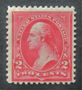 nystamps US Stamp # 266 Mint OG H $33   L30x202