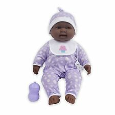 Jc Toys Lots to Cuddle Babies African American 20-Inch Purple Soft Body Baby
