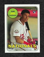 JUAN SOTO 2018 Topps / Heritage Rookie RC # 502  Wash. Nationals Maybe PSA-10 ?