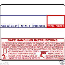 CAS LST-8030 Label 600/Roll 12 rolls CAS LP1000 CL5000 LPII LS100 8030