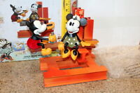Disney Mickey Minnie Mouse Large Statue Sculpture Limited Edition only 2,000