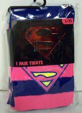 Supergirl Tights 1 Pair L/XL DC COMICS