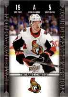 2019-20 Upper Deck Tim Hortons Game Day Action Thomas Chabot #HGD-5