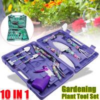 New 10PCS Household Tool Garden Home Tool Set Kit Repair Hard Case DIY Handy