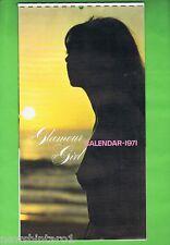 1971  GLAMOUR GIRL  CALENDAR