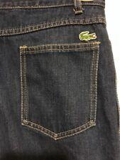 Vintage Lacoste 30 x 34 blue jeans pants Long Tall Jeans
