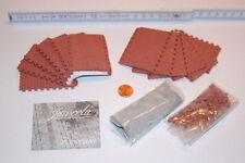Juweela 1/35, 1/32 Flexiway H-type Bone Pavers - Red Segments & Beginning Stones