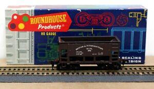 Roundhouse HO Ore Car Denver & Intermountain Kit 1991 Built Boxed