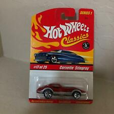 Hot Wheels Classics Series 1 Corvette Stingray #17/25 Limited Edition C19