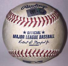 Alex Bregman 1st Home Run Game Used Baseball MLB COA World Series Houston Astros