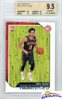 TRAE YOUNG 2018/19 Panini Hoops #250 ROOKIE BGS 9.5 with BGS 10 PRISTIN Hawks!