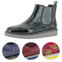 Cougar Women's Kensington Rubber Waterproof Anti-Slip Chelsea Rainboots Bootie