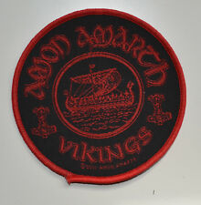 AMON AMARTH - Vikings Circular - Patch - 9 cm - 164305