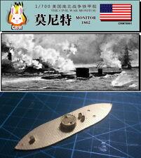 PE kit 1/700 American Civil War ironclad warship USS Monitor (1862)