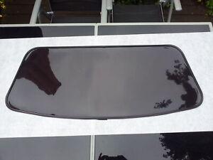 FIAT Barchetta Cabrio Heckscheibe Flexglas schwarz getönt mit Reissverschluß