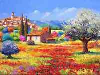 Diamond Painting Full Drill 5D DIY Embroidery Stitch Kit Home Decor Flower House