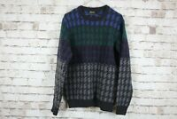 Barbour Wool Jumper Size Large No.C389 01/3