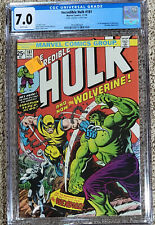 Incredible Hulk 181 CGC 7.0 White Pages!