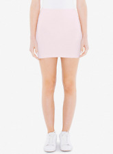 American Apparel Ponte Mini Skirt  Pink Short Size Small RSAPO323