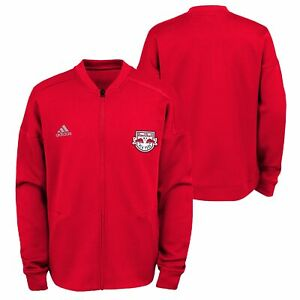 Adidas MLS Youth New York Red Bulls Anthem Zip Up Jacket