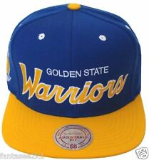 4d932043 Golden State Warriors Mitchell & Ness Vintage Special Script Snapback Hat  NBA