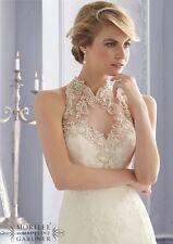 Mori Lee Wedding Dress 2675 Brand New Size 12 Ivory New!!