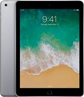 "Apple iPad 5th Gen - 128GB WiFi 9.7"" Black / Space Gray"