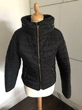 Woman's Warm Black Jacket Size 8