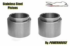 Kawasaki Z 900 Z1-A 1974 front brake caliper piston stainless steel pair 74